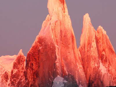 PN Los Glaciares  |  Cerro Torre at sunrise