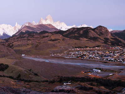 PN Los Glaciares  |  El Chaltén in the morning