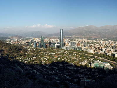 Santiago de Chile  |  Barrio Alto and and Cordillera