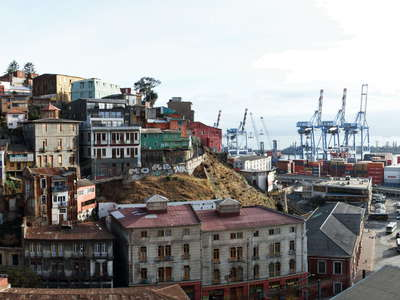Valparaíso  |  Cerro Artillería and harbour