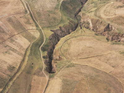 Ilyak Valley  |  Loess erosion