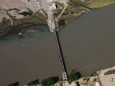 Tajikistan-Afghanistan Bridge at Tem-Demogan