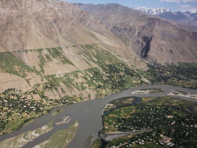 Panj Valley  |  Irrigated farmland (Afghanistan)