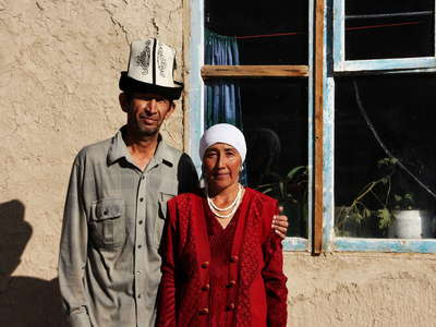 Murghab  |  Kyrgyz couple