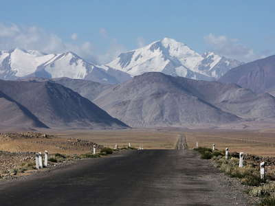 Khargush Pamir  |  Pamir Highway and Muzkol Range