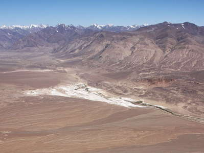 Eastern Pamir Highland panorama