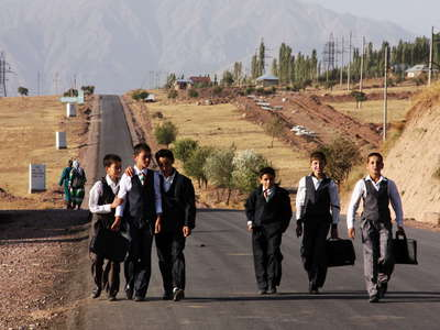 Surkhob Valley  |  School children