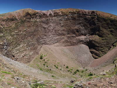 Vesuvio | Gran Cono with crater