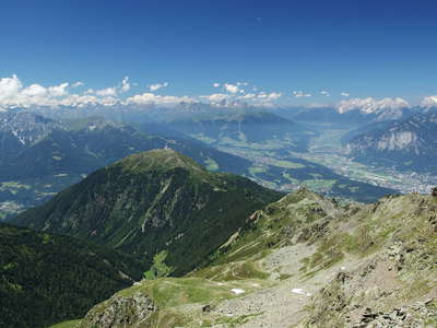 Inntal panorama with Patscherkofel