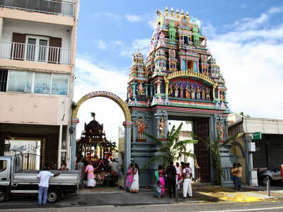 Saint-Denis  |  Hindu Temple