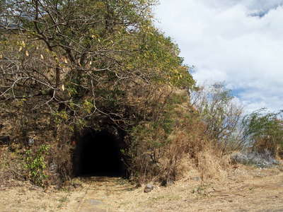 La Grande Chaloupe  |  Ancient railway tunnel