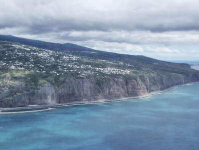 La Montagne and coastal cliffs
