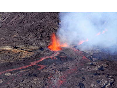 Piton de la Fournaise  |  Eruption