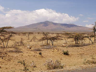East African Rift Valley with Mt. Longonot