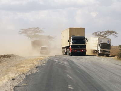 Kenyan road traffic