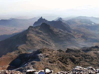 Mount Kenya NP  |  View from Pt. Lenana