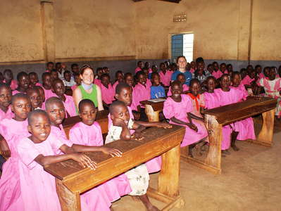 Western Uganda  |  School with classroom