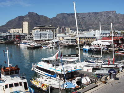 Cape Town  |  Waterfront and Table Mountain