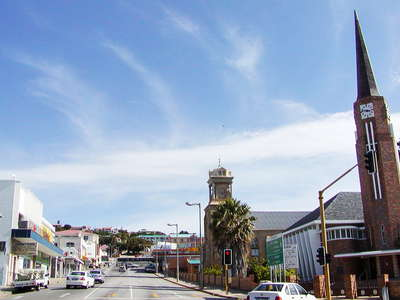 Mossel Bay  |  Town centre