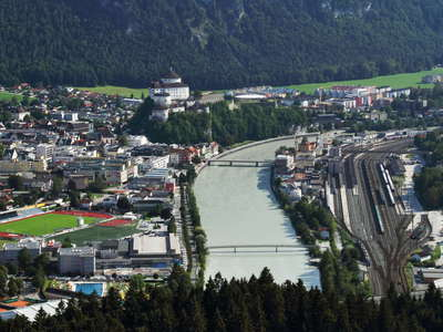 Inntal Valley with Kufstein