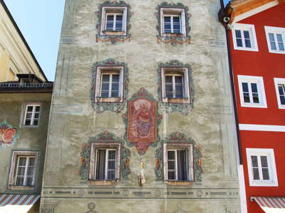St. Wolfgang im Salzkammergut | Painted building