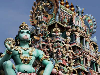 Little India  |  Perumal Temple