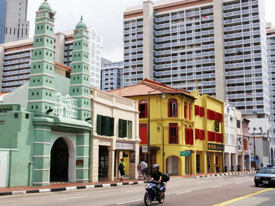 Chinatown  |  North Bridge Road with Jamae Mosque