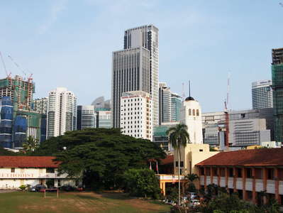 Kuala Lumpur  |  Methodist school and new business district