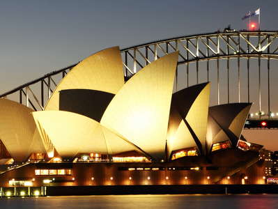 Sydney  |  Opera House and Harbour Bridge