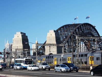 Sydney Harbour Bridge  |  Traffic