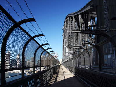 Sydney Harbour Bridge  |  Footpath