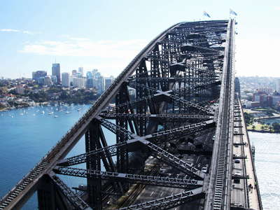 Sydney Harbour Bridge  |  Through arch