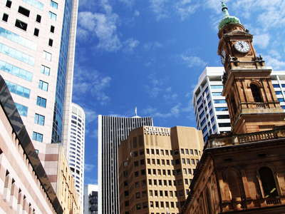 Sydney  |  Mixture of old and new in the CBD
