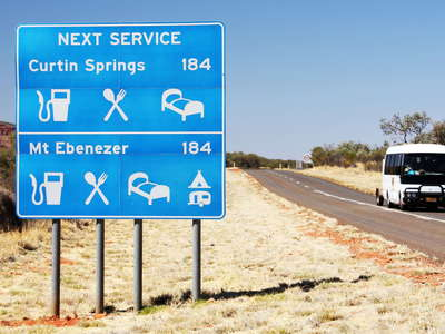 Kings Creek Station  |  Few services on Luritja Road