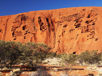 Uluru / Ayers Rock  |  Caves