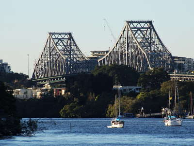 Brisbane River and Story Bridge