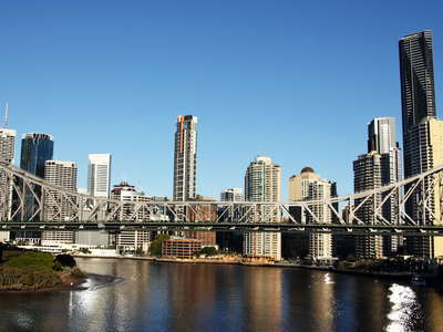 Brisbane  |  Story Bridge and CBD