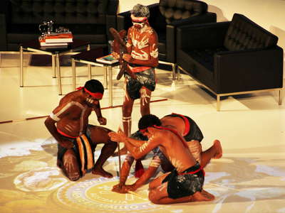 Brisbane  |  Show of Aboriginal Australians