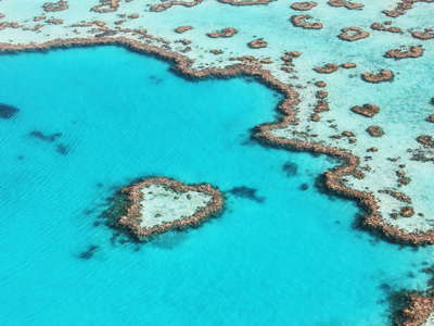 Great Barrier Reef  |  Heart Reef