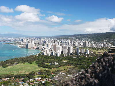 Honolulu  |  Waikīkī panorama