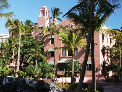 Honolulu  |  Royal Hawaiian Hotel