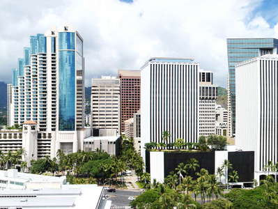 Honolulu  |  CBD panorama