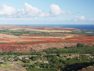 Waimea  |  Farmland and coast
