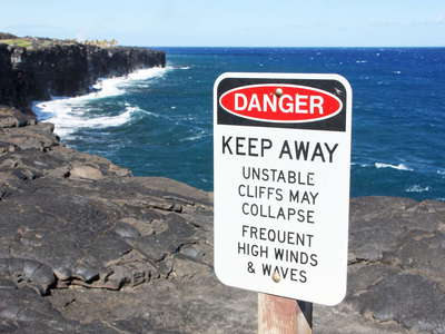 Hawai'i Volcanoes NP  |  Coastline