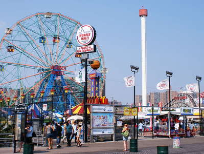 Coney Island  |  Amusement park
