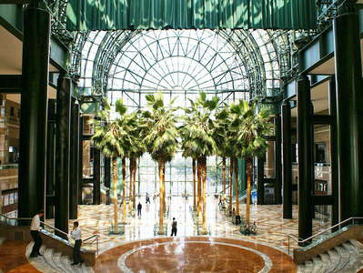 Lower Manhattan  |  Winter Garden Atrium