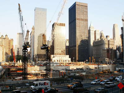 Lower Manhattan  |  World Trade Center Site
