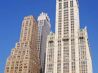 Lower Manhattan  |  Woolworth Building