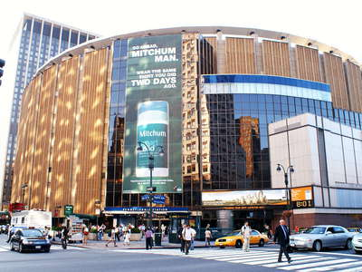 Midtown Manhattan  |  Madison Square Garden