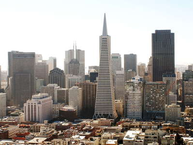 San Francisco  |  CBD with Transamerica Pyramid